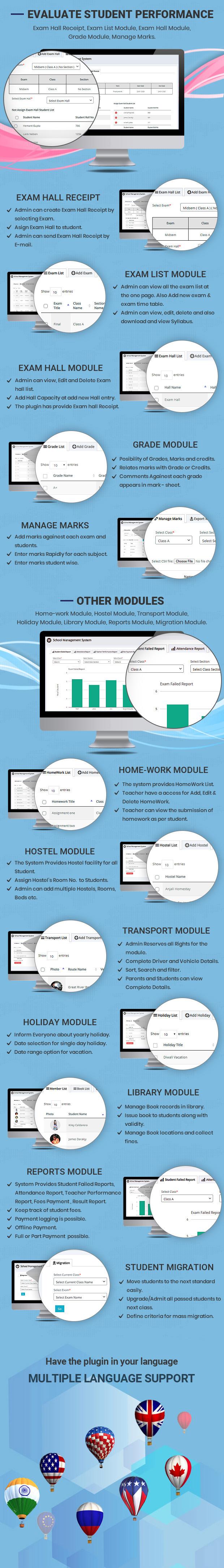 online school management script