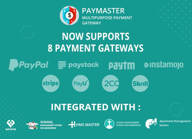 Multipurpose payment Gateway