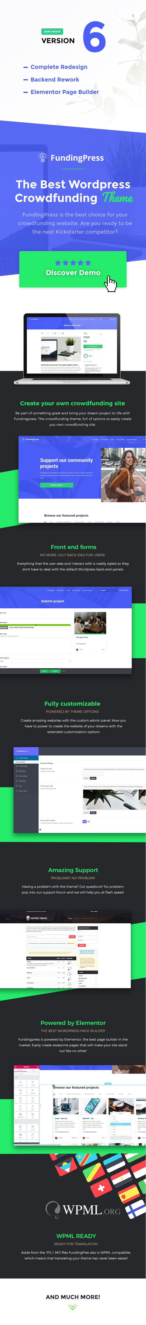 Fundingpress - The Crowdfunding WordPress Theme - 2