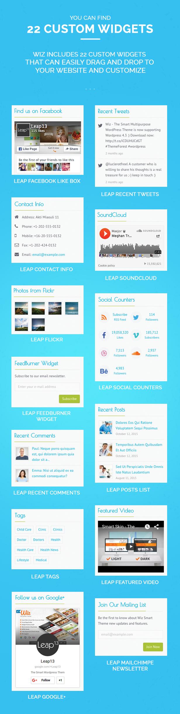 Wiz - The Smart Multi-Purpose WordPress Theme - 17