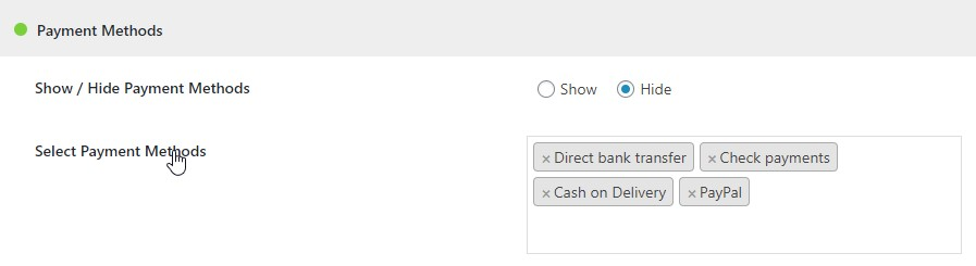 WooCommerce Hide Products, Categories, Prices, Payment and Shipping by User Role - 3