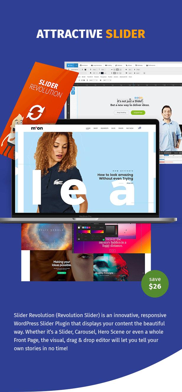Moon Shop - Responsive eCommerce WordPress Theme for WooCommerce - 8