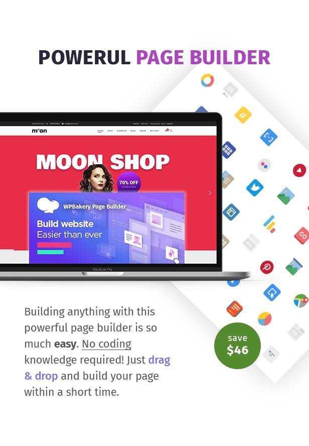 Moon Shop - Responsive eCommerce WordPress Theme for WooCommerce - 7