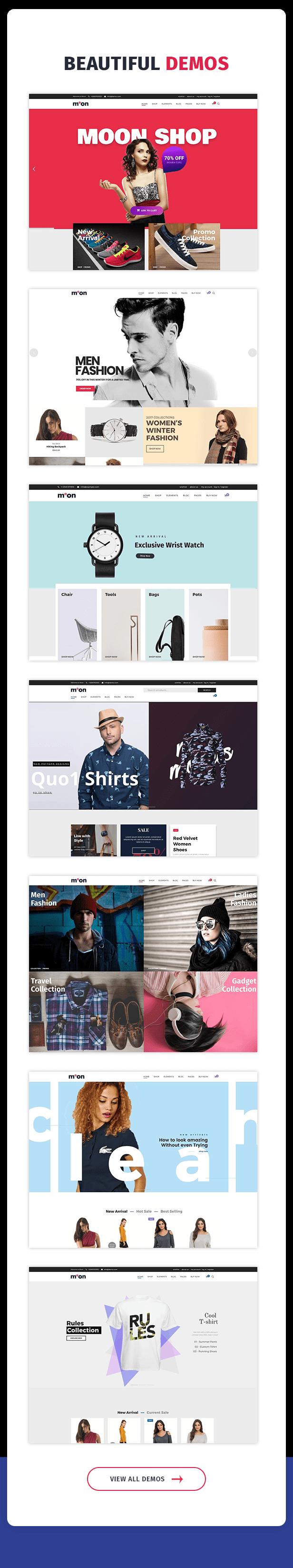 Moon Shop - Responsive eCommerce WordPress Theme for WooCommerce - 9