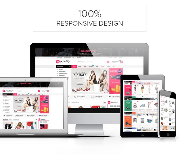 KuteShop - Fashion, Electronics & Marketplace WooCommerce Theme (RTL Supported) - 9