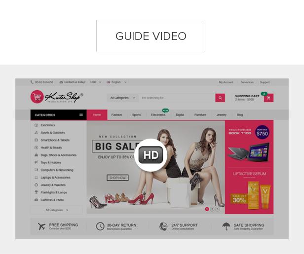 KuteShop - Fashion, Electronics & Marketplace WooCommerce Theme (RTL Supported) - 16