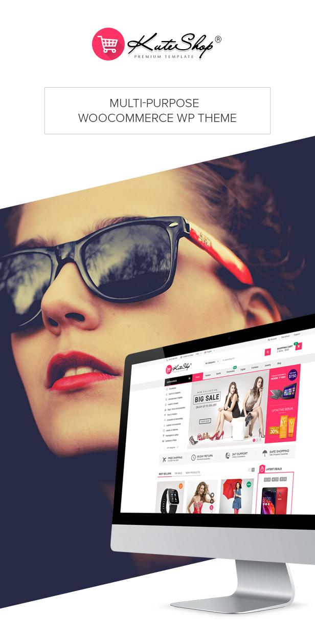 KuteShop - Fashion, Electronics & Marketplace WooCommerce Theme (RTL Supported) - 8
