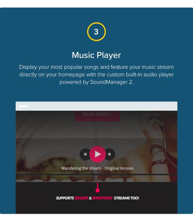 Chords - Music / Artist / Radio WordPress theme - 4