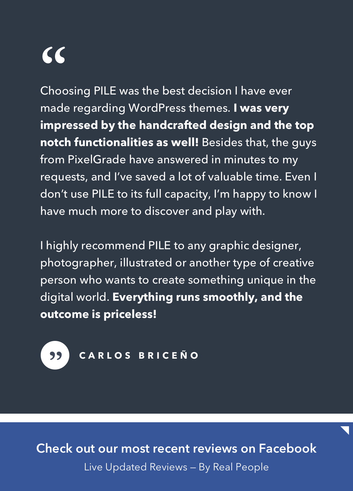 PILE - An Uncoventional WordPress Portfolio Theme - 7