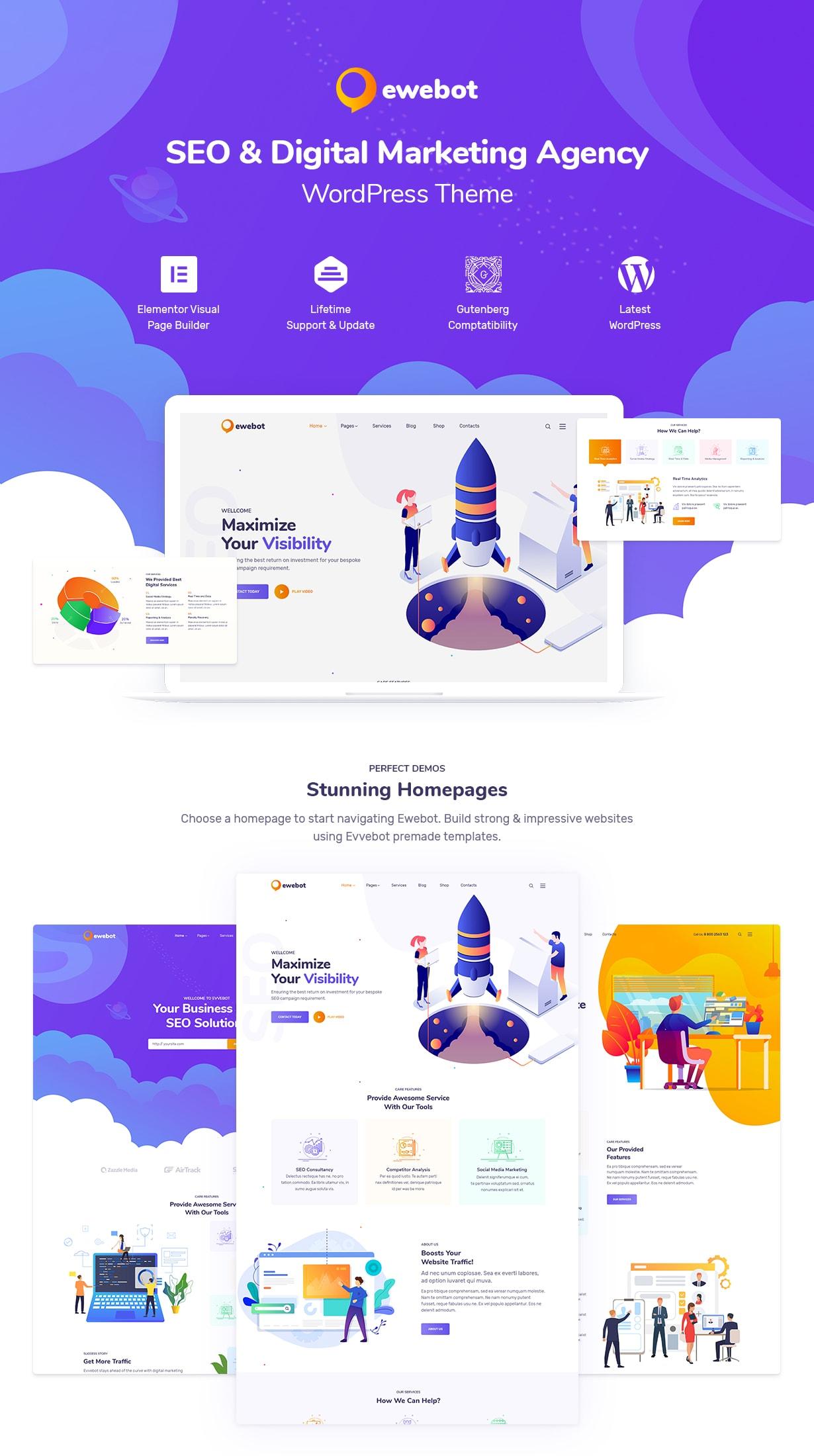 Ewebot - SEO Marketing & Digital Agency - 4