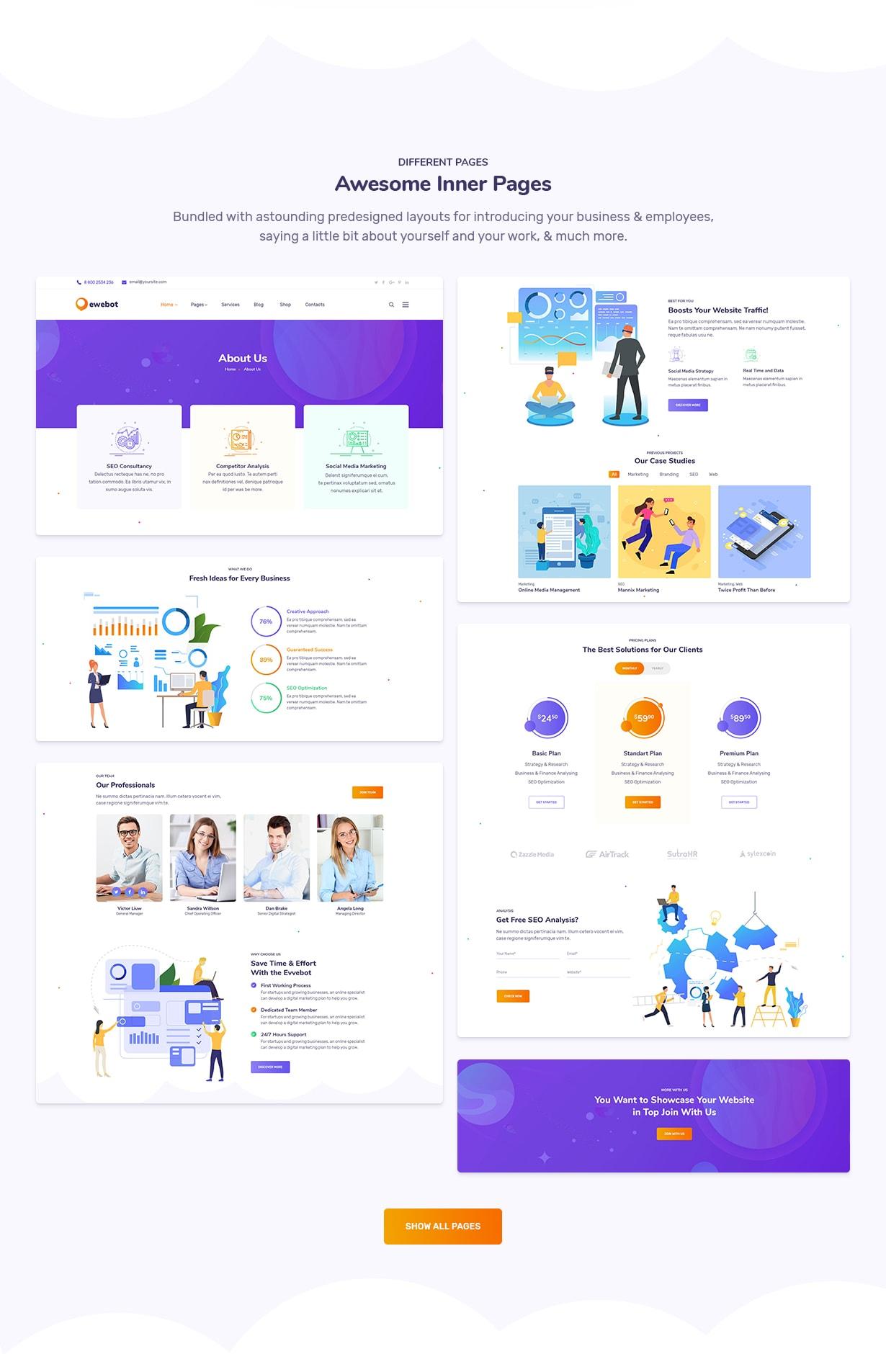Ewebot - SEO Marketing & Digital Agency - 5