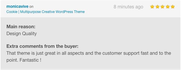 Cookie   Multipurpose Creative WordPress Theme - 5