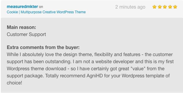 Cookie   Multipurpose Creative WordPress Theme - 2