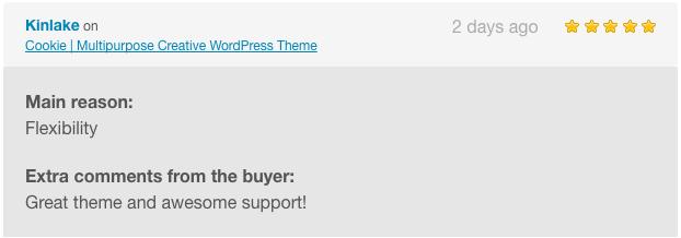 Cookie   Multipurpose Creative WordPress Theme - 4