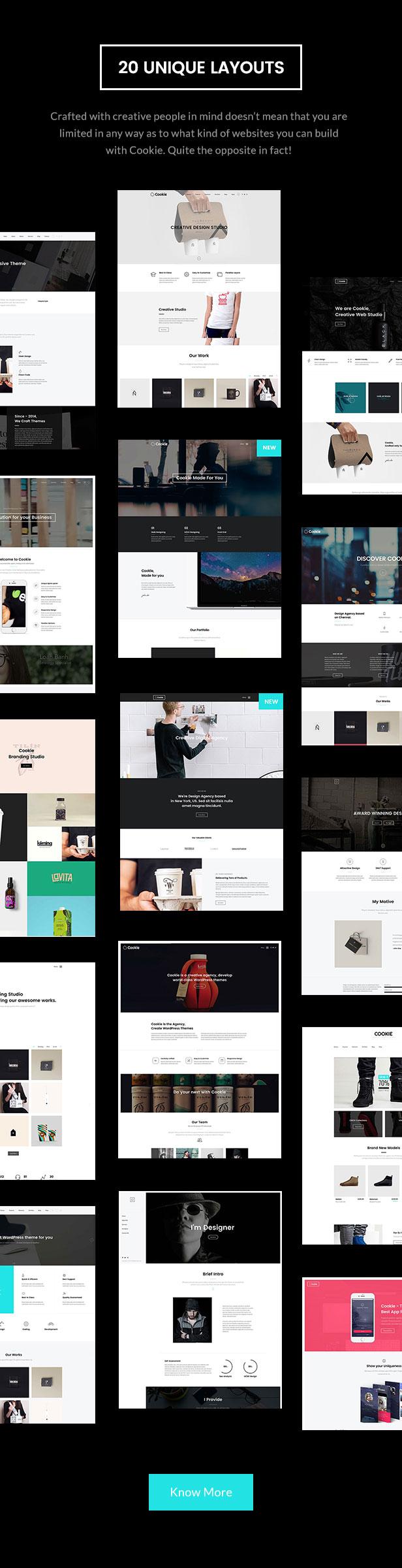 Cookie   Multipurpose Creative WordPress Theme - 7