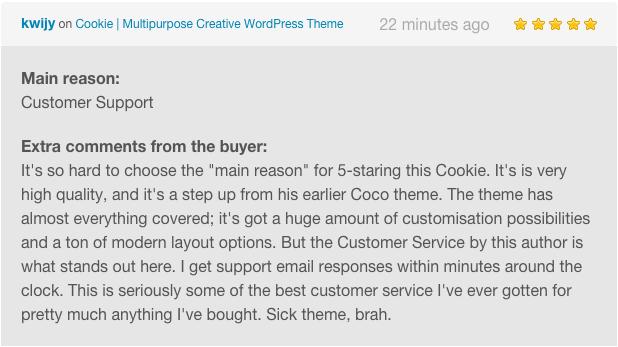 Cookie   Multipurpose Creative WordPress Theme - 6