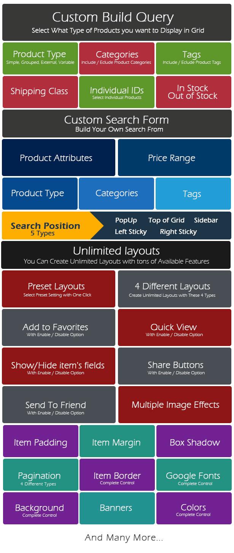 WooCommerce Grid : Display Product + AJAX Filter - 7