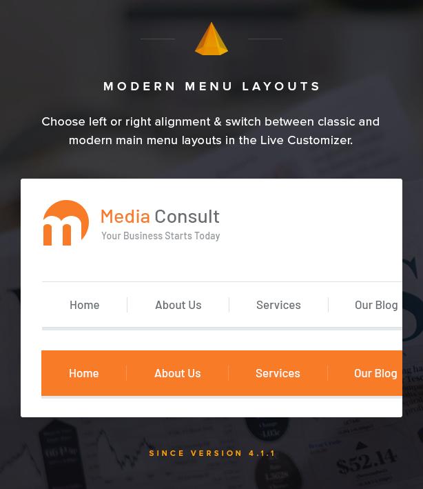 Modern Main Menu