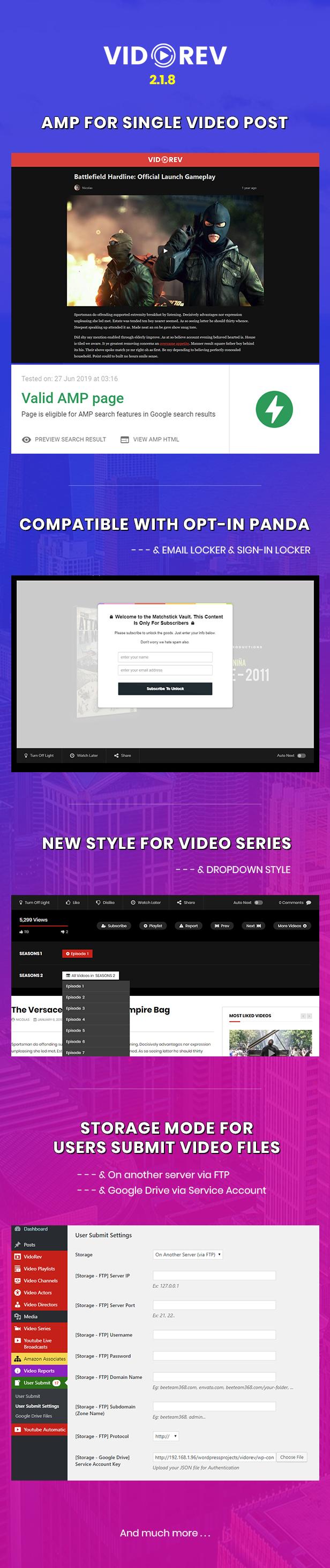VidoRev - Video WordPress Theme - 5