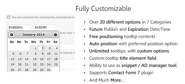 WordPress Hover Image & Content Tooltip Plugin - 4