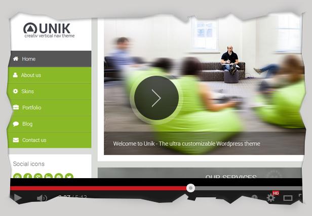 Unik - Responsive Multi-Purpose Theme - 3