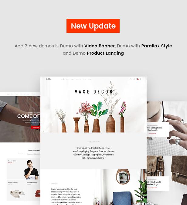 Unero - Minimalist AJAX WooCommerce WordPress Theme - 8