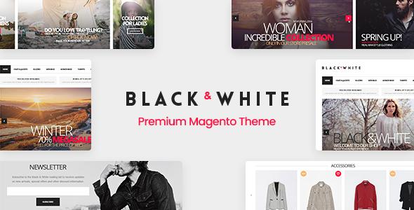 Black&White - Responsive Magento 2.3.5 Theme