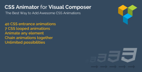 CSS Animator for WPBakery Page Builder (formerly Visual Composer)