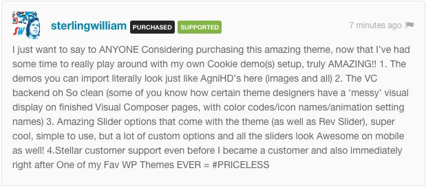 Cookie   Multipurpose Creative WordPress Theme - 1