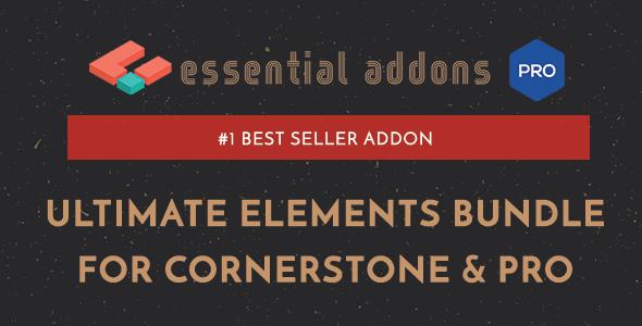Essential Addons for Cornerstone & Pro