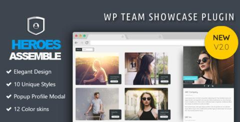 Heroes Assemble - Team Showcase WordPress Plugin