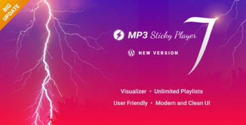 MP3 Sticky Player Wordpress Plugin