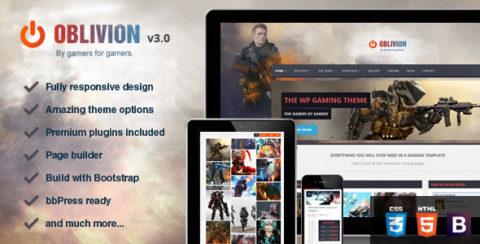 Oblivion - The Ultimate Multi-Purpose Gaming Theme