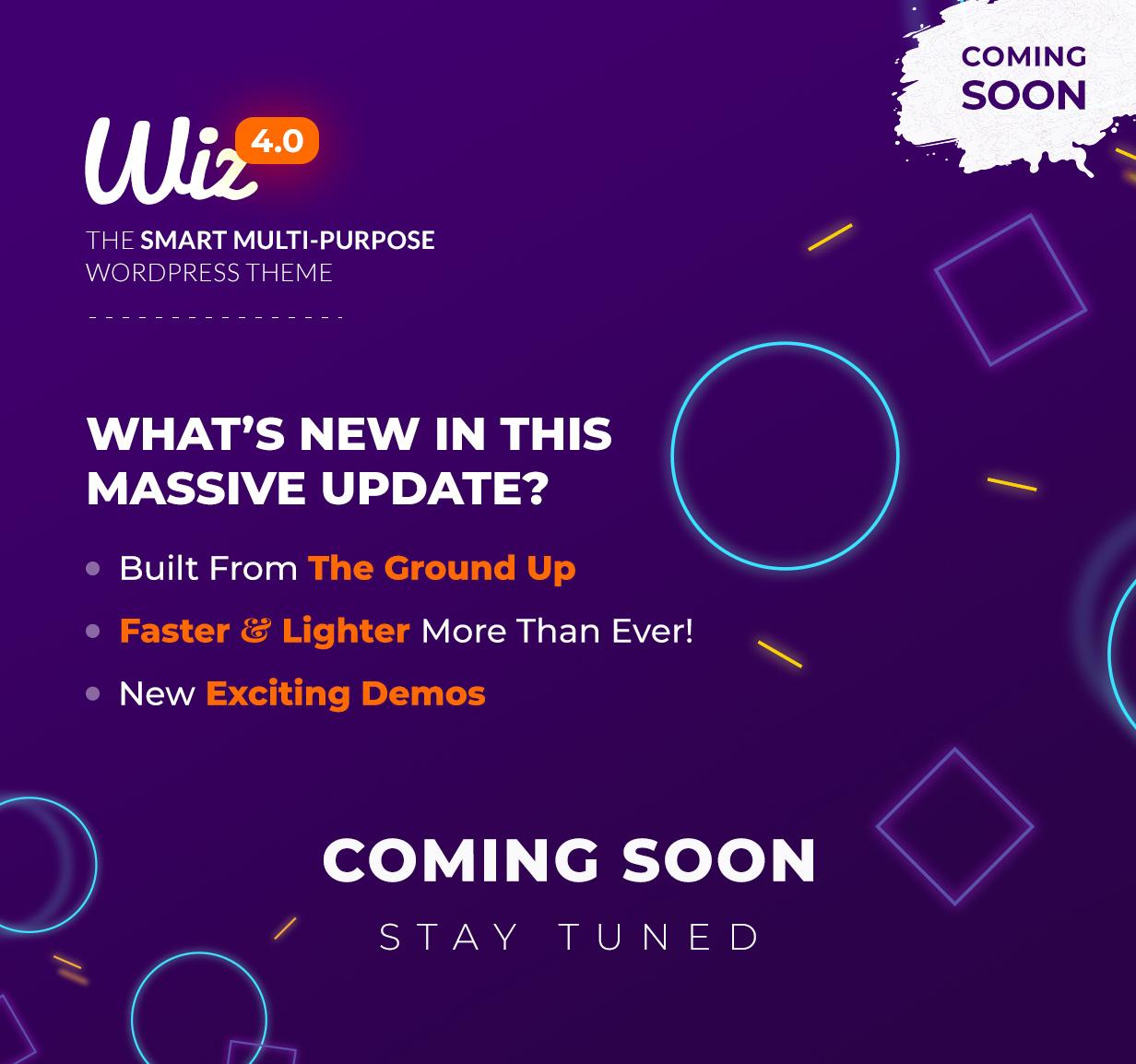 Wiz - The Smart Multi-Purpose WordPress Theme - 1