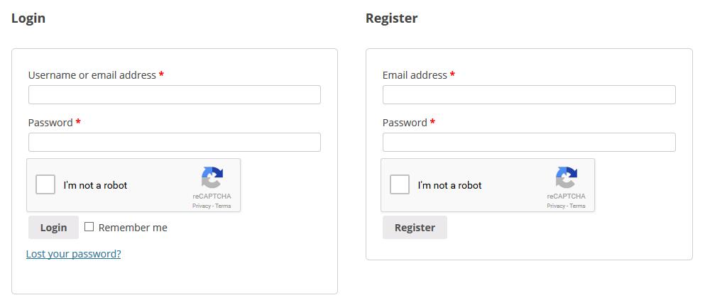 reCAPTCHA for WooCommerce - 2