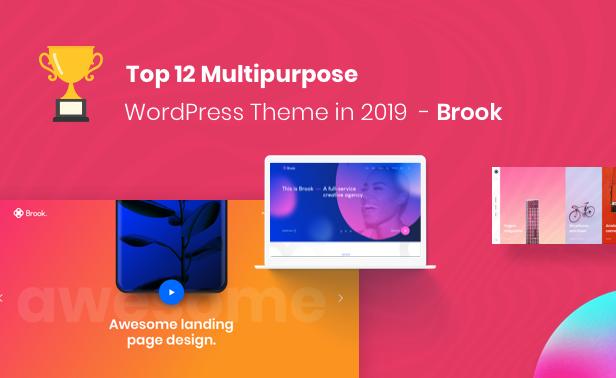 Brook - Agency Business Creative WordPress Theme - 4