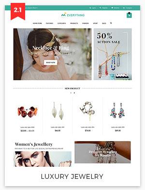 luxury jewely magento theme 2.2