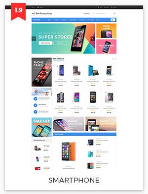 smartphone magento theme 1.9