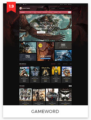 gameworld magento theme 1.9
