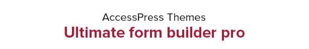 Ultimate Form Builder - #1 Form Builder For WordPress - 4