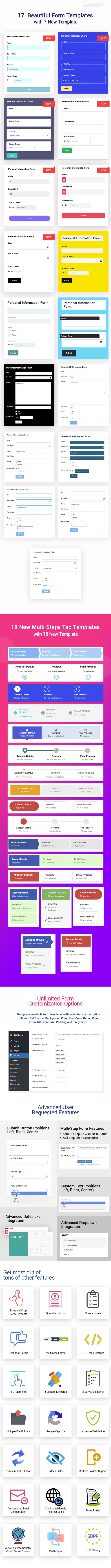 Ultimate Form Builder - #1 Form Builder For WordPress - 3