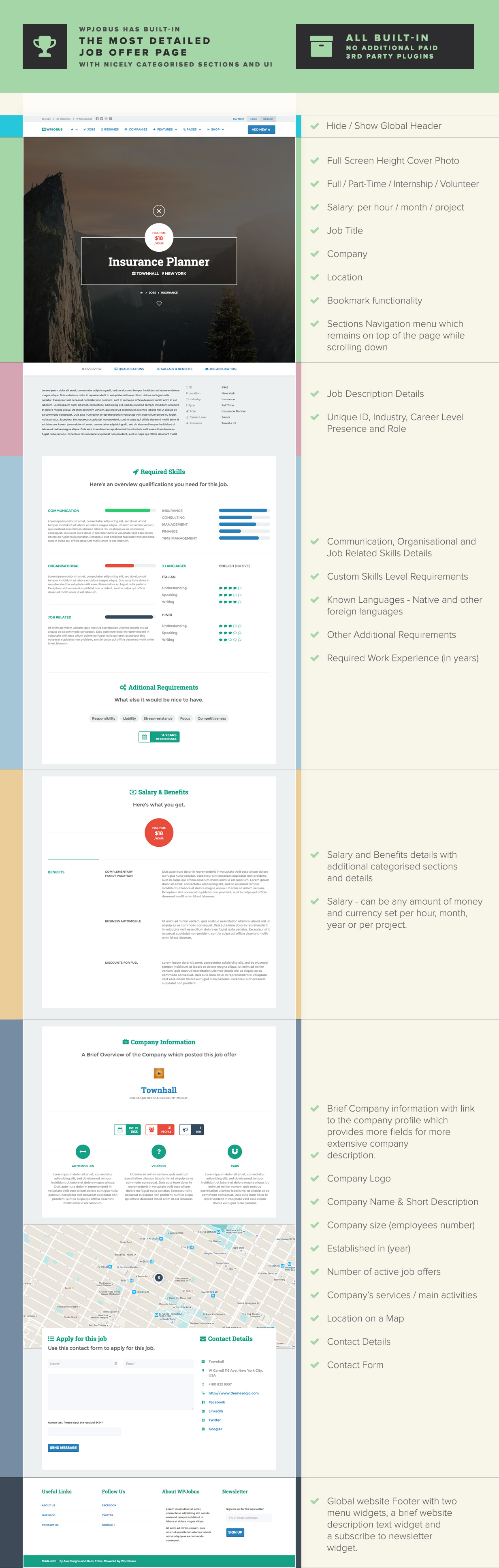 WPJobus - Job Board and Resumes WordPress Theme - 6