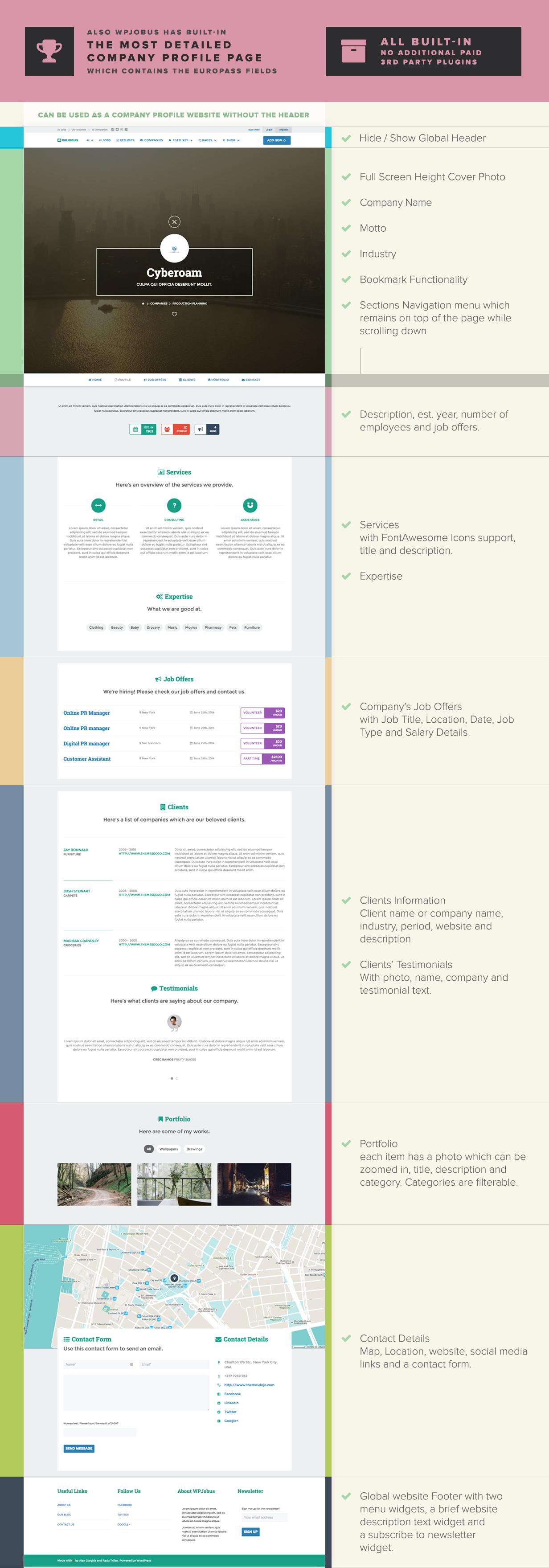 WPJobus - Job Board and Resumes WordPress Theme - 10