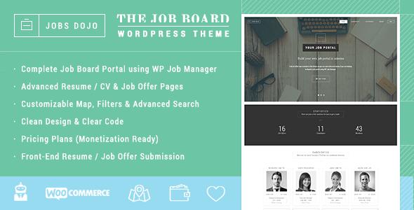 WPJobus - Job Board and Resumes WordPress Theme - 21