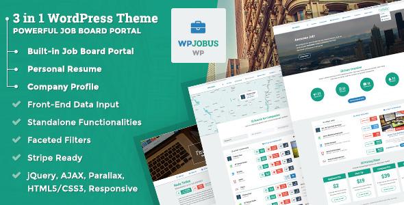 WPJobus - Job Board and Resumes WordPress Theme - 32