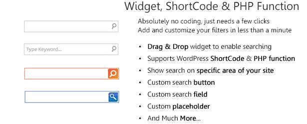 wordpress ajax search plugin real time search