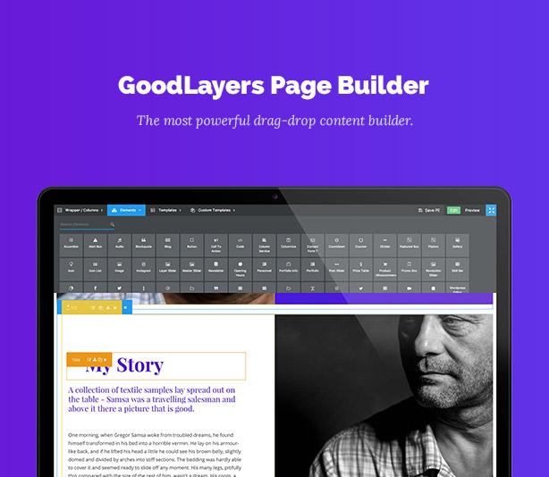 One Page Pro - Multi Purpose OnePage WordPress Theme - 3