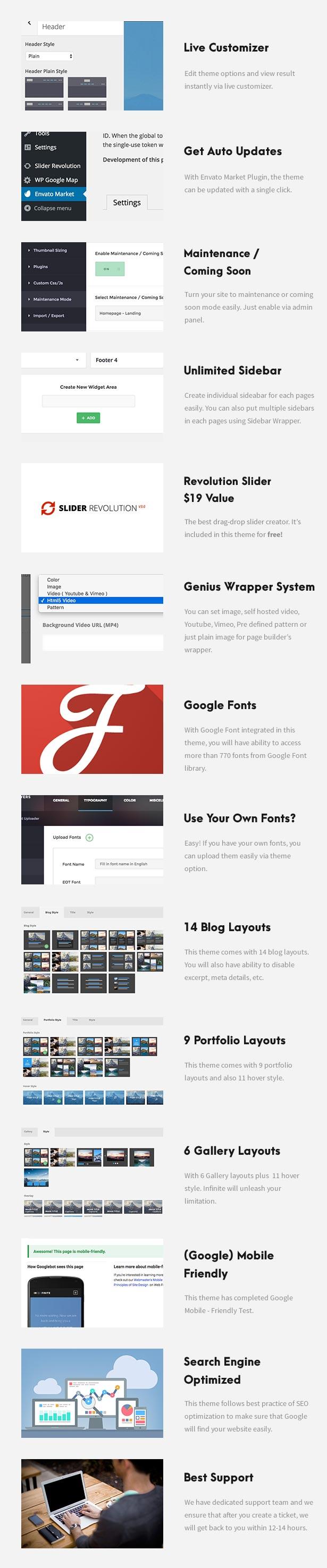 One Page Pro - Multi Purpose OnePage WordPress Theme - 9
