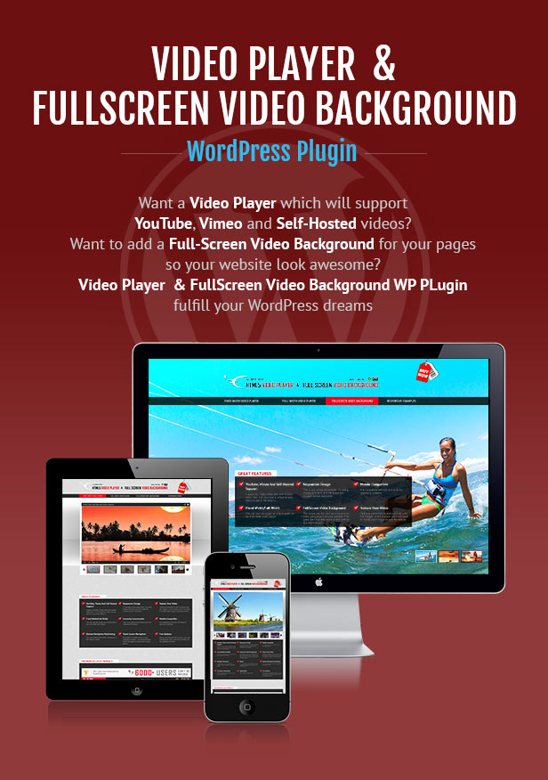 Video Player and FullScreen Video Background Wp Plugin