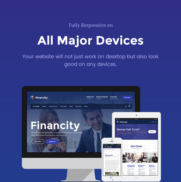 Financity - Business / Financial / Finance WordPress - 10